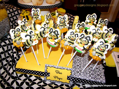 I Lucked Out Big Time On These Bee Pops Sent My Husband To Waynes Wholesale Candy Company One Day A Mission For Yellow And Black He