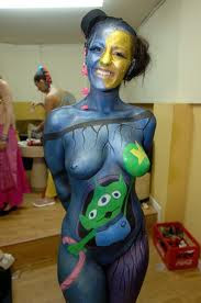 best art body painting and tattoo