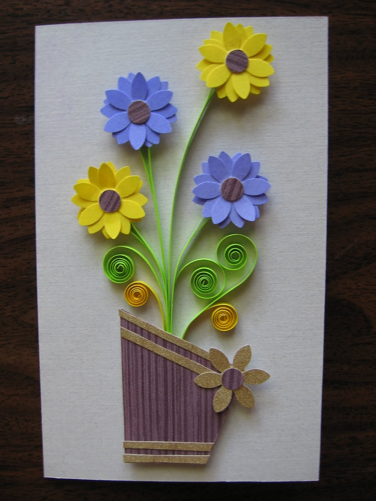 Quilling Ideas July 2010