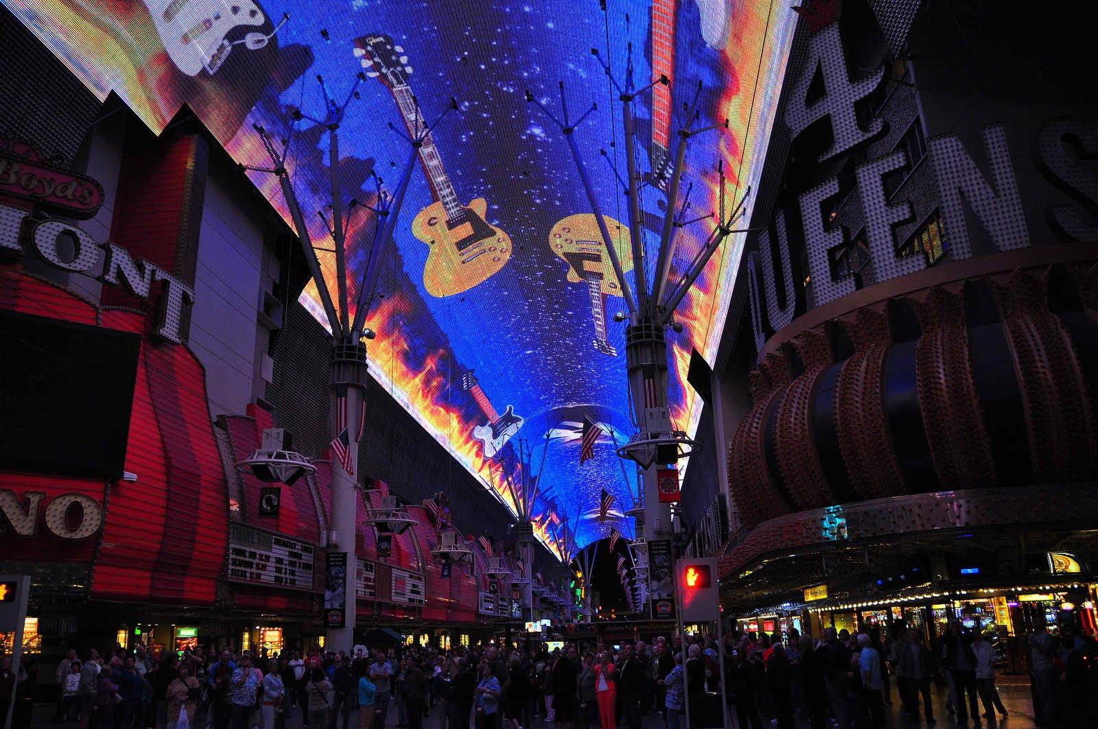 Downtown Las Vegas Light Show