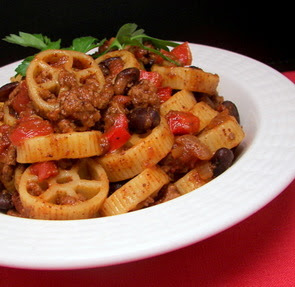 Southwestern Chili Pasta