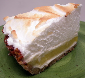 Lemon-Lime Meringue Ice Cream Pie in Toasted Pecan Crust (Adapted from ...