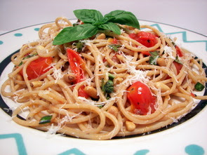 Cherry Tomato Spaghetti