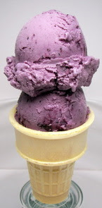 Blueberry Cheesecake Ice Cream Picture