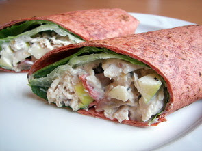 Waldorf Chicken Wraps