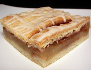 Frosted Apple Squares
