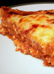 Healthier Meat Lasagna