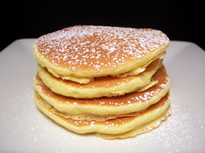 Culinary in the Desert: Orange-Ricotta Pancakes
