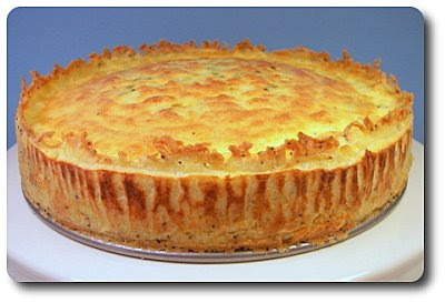 Culinary in the Desert: Goat Cheese Quiche with Hash-Brown ...