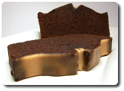 Chocolate Pound Cake with Peanut Butter Glaze (Adapted from Martha ...