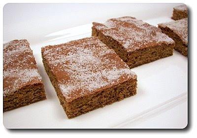 Gingerbread Bars...