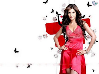Katrina Kaif in Red
