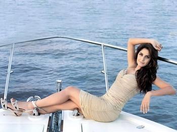 Katrina Kaif on Boat