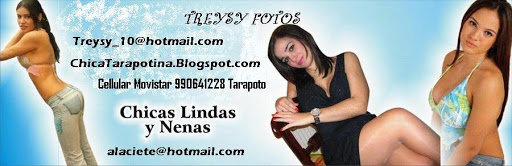 FOTOS DE TARAPOTINAS, CHICAS PERUANAS Y MUJERES LATINAS