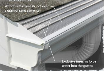 The Leaf Solution leafguard Toronto gutter