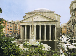 Roman Architecture Pantheon my architectural moleskine®: the light and the pantheon