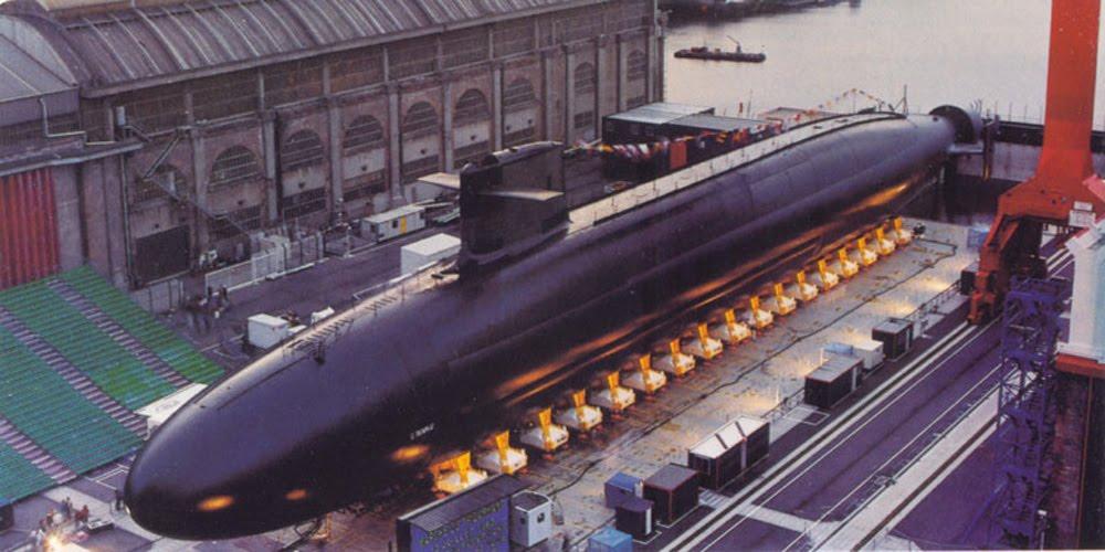 тип ракет на подводных лодках