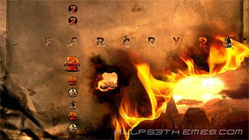PS3 theme Far Cry 2 ~ Ps3 themes free downloads