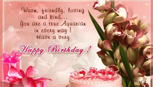 advance birthday greetings for friend