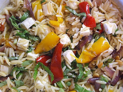 The Recipe Girl Ina Garten 39 S Orzo With Roasted Vegetables