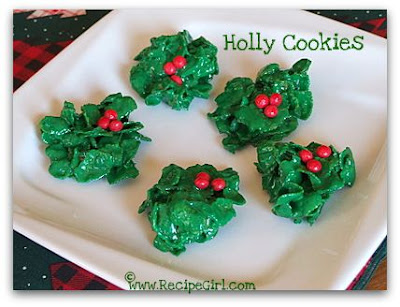 The recipe girl christmas cookie recipes 25 favorites for Simple christmas cookie and candy recipes