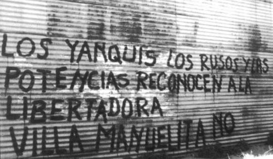 HOMENAJE A LA RESISTENCIA PERONISTA, ALLÁ POR LOS AÑOS ´60.
