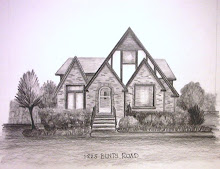 Graphite Pencil House Portrait