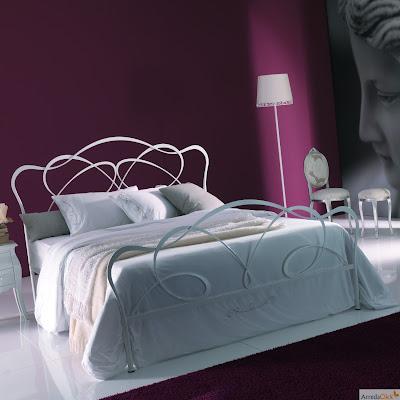 arredaclick italienisches designm bel blog schmiedeeisenbetten ein m rchen in eurem schlafzimmer. Black Bedroom Furniture Sets. Home Design Ideas