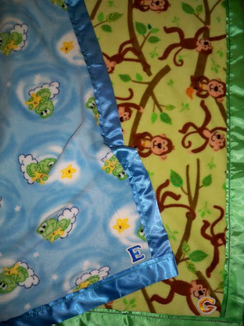 twin baby boy blankets easy sewing projects