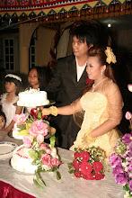 Majlis Memotong Kek Perkahwinan
