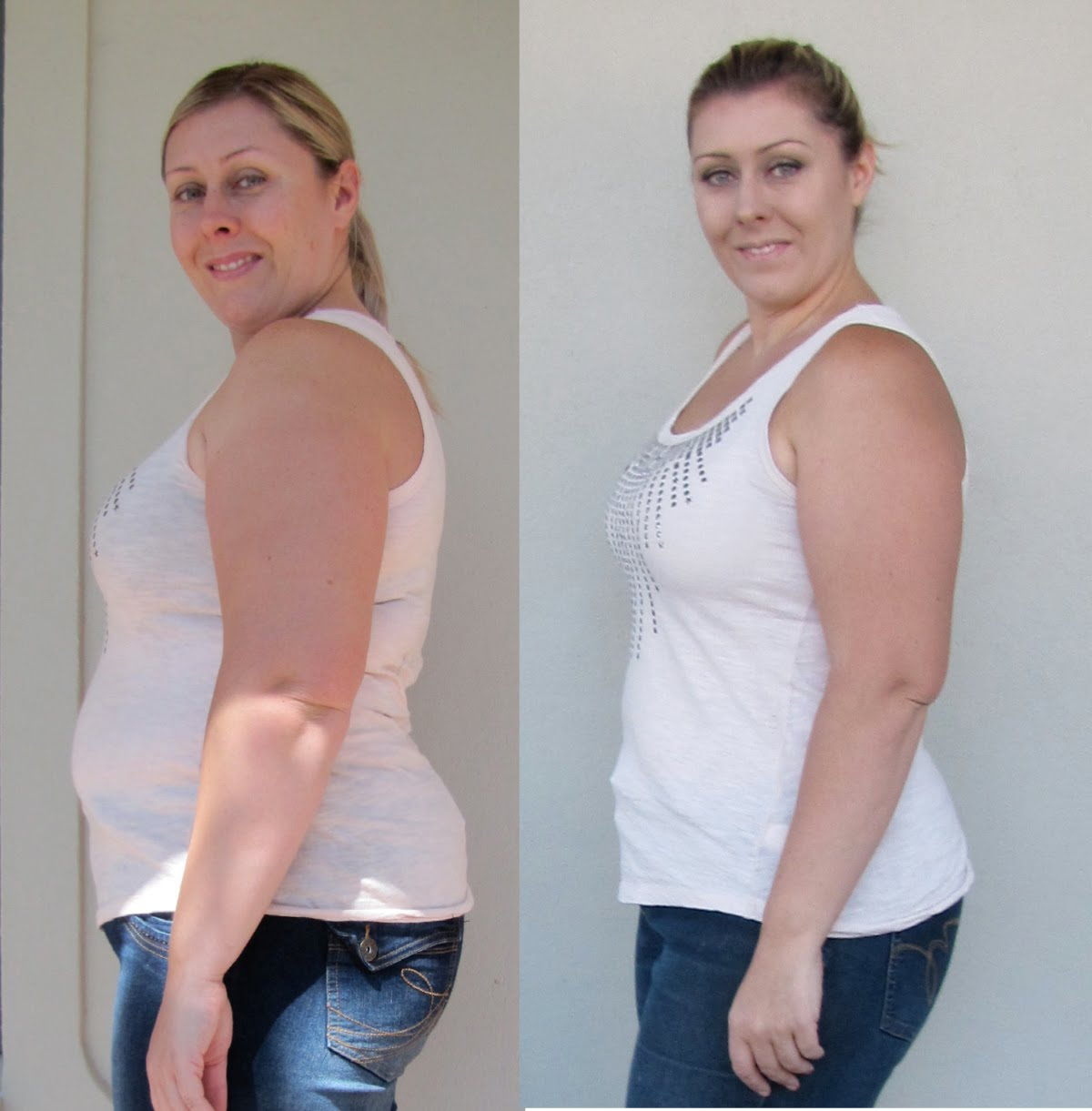 Shocking 55lb Weight Loss Before And After