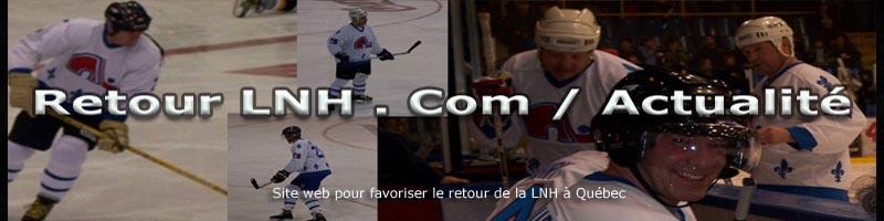 Retour LNH Actualité