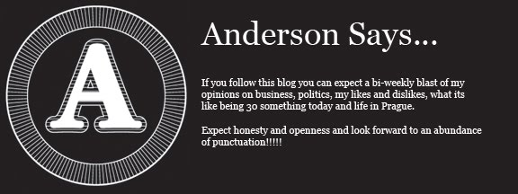 Anderson Says...
