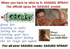 Sasuke Spray - Happy April Fool's Day 2008