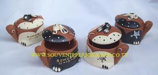 souvenir tempat perhiasan bentuk hewan kura-kura