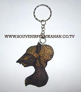 gantungan kunci motif batik jogjakarta