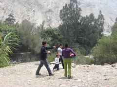 Elenco de Prolaim! Perú participa en corometraje
