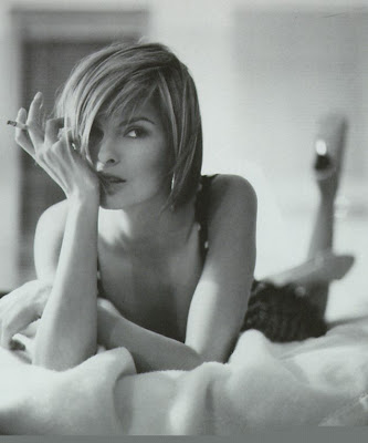 Linda Evangelista is a supermodel. Not just any supermodel.