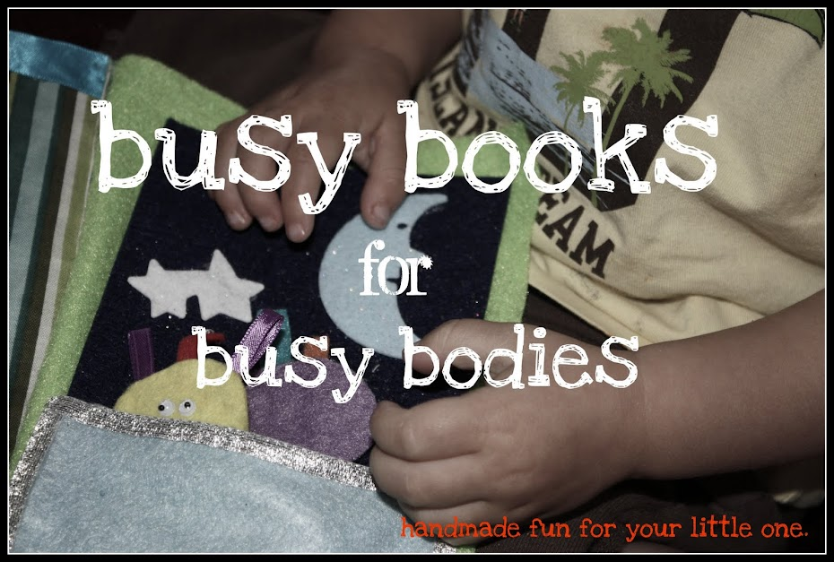 Busy Books for Busy Bodies
