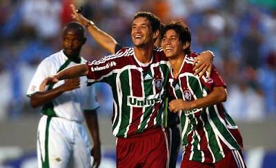 Conca marcou seu primeiro gol pelo Fluminense