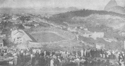 Estádio das Laranjeiras em 1922