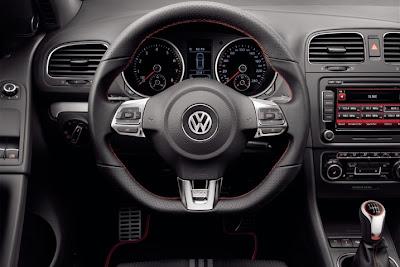 2010 Volkswagen Golf GTI adidas Interior