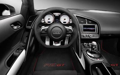 2011 Audi R8 GT Interior