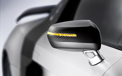 2011 Audi R8 GT Side Mirror