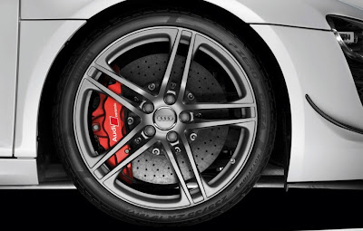 2011 Audi R8 GT Wheel View