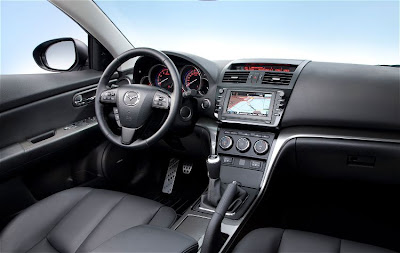 2011 Mazda 6 Wagon Interior