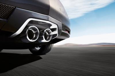 2011 Cadillac CTS-V Coupe Exhaust