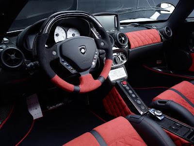 2010 Gemballa MIG-U1 Ferrari Enzo Steering Wheel
