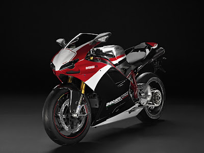 2010 Ducati 1198S Corse Special Edition Front Side View