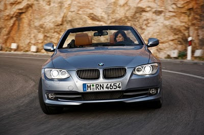 2011 BMW 3-Series Convertible Front View